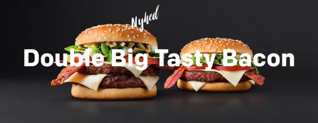 McDonald's Denmark - Double Big Tasty Bacon