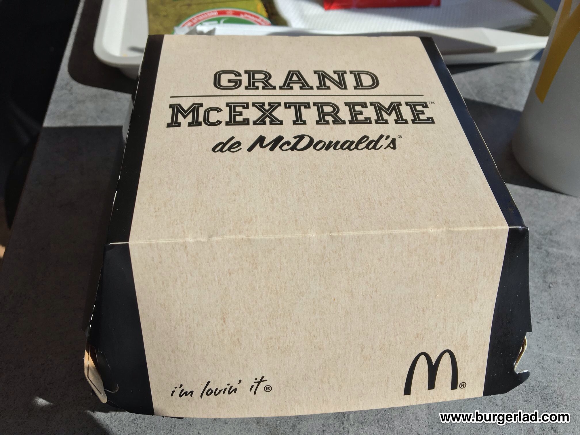 McDonald's Grand McExtreme