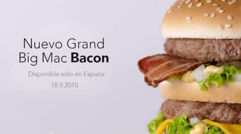 McDonald's Grand Big Mac Bacon UK