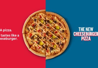 Domino's Cheeseburger Pizza