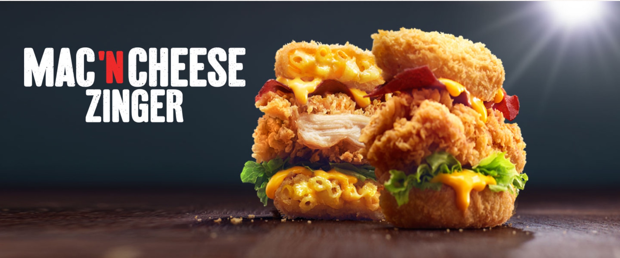 Mac 'N Cheese Zinger