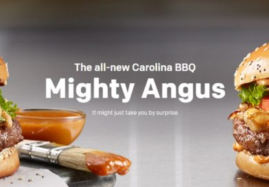 McDonald's Carolina BBQ Mighty Angus
