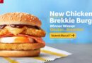 McDonald's Chicken Brekkie Burger