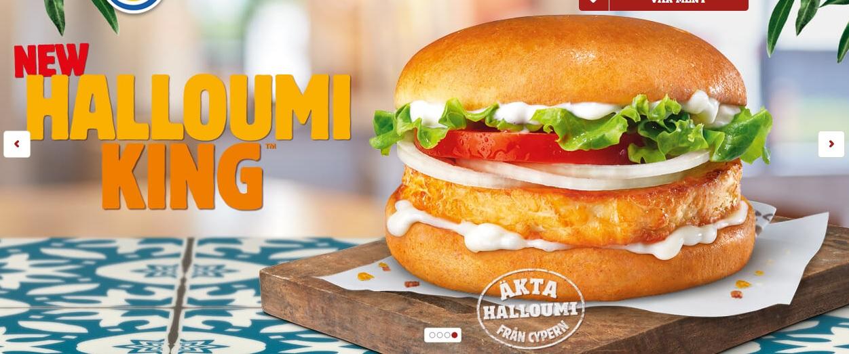 Burger King Halloumi King