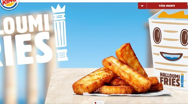 Burger King Halloumi Fries