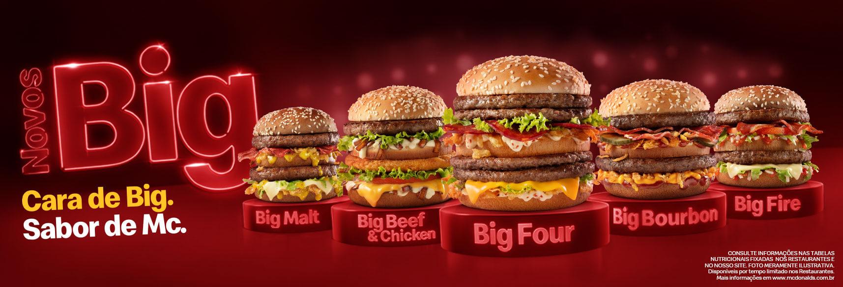 McDonald's Brazil Big New