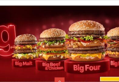 McDonald's Brazil Gourmet Big Macs