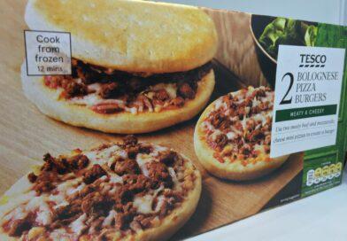 Tesco Bolognese Pizza Burgers