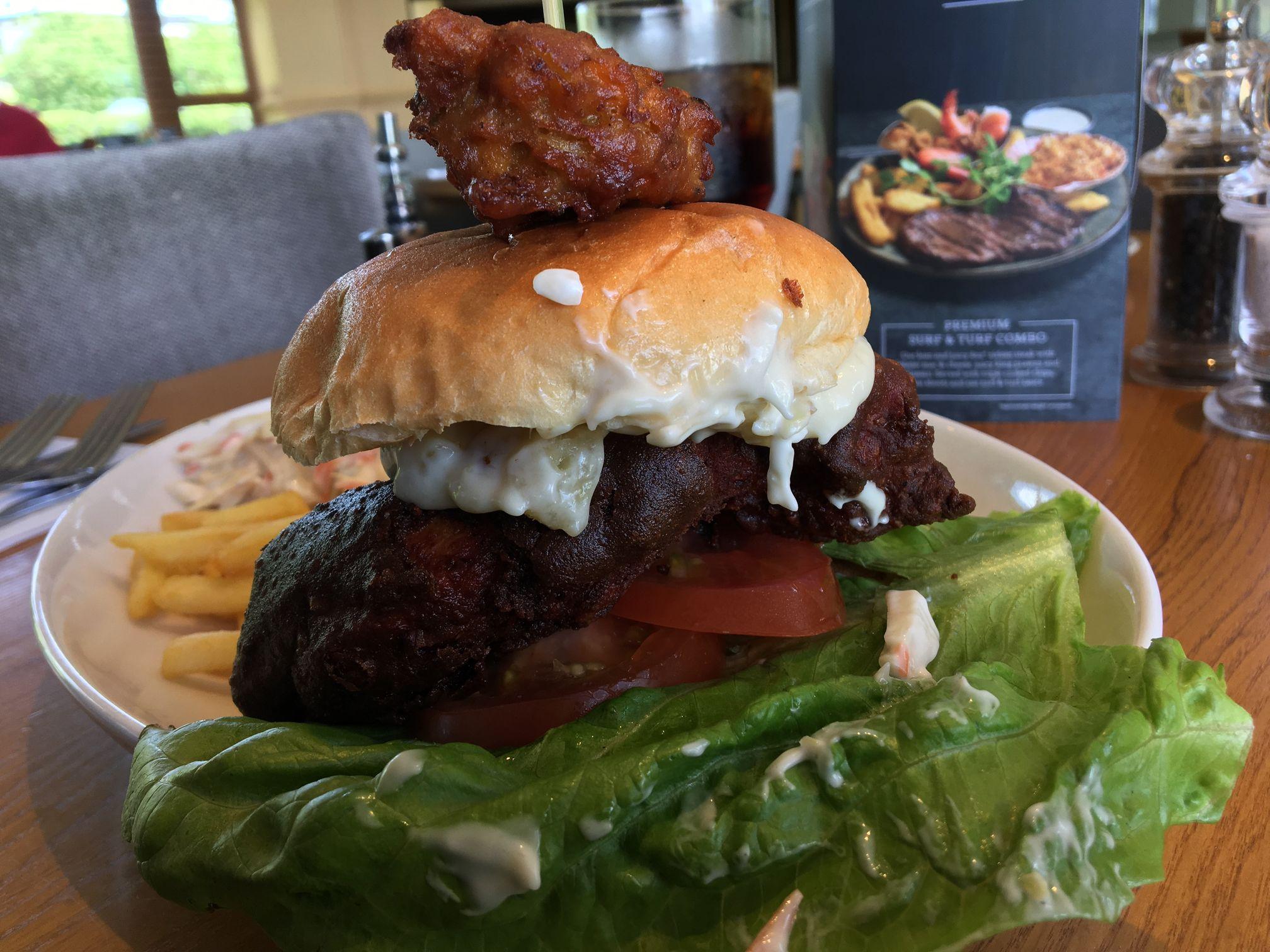 Tandoori Spice Burger