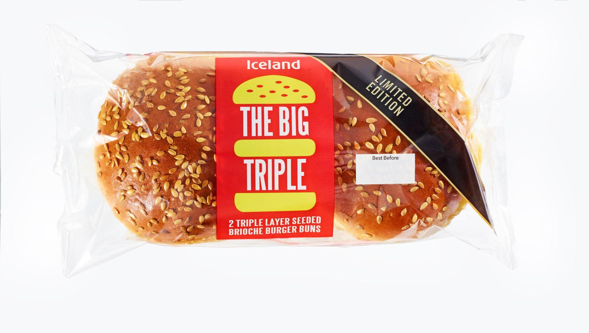 Iceland Big Triple Bun
