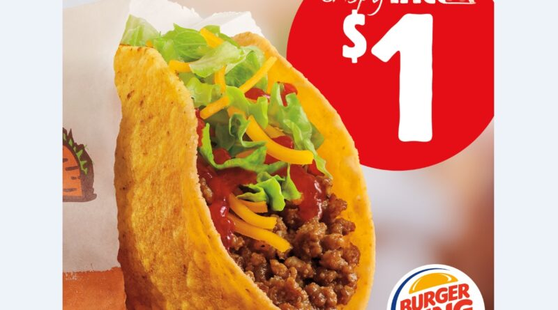 Burger King Crispy Taco