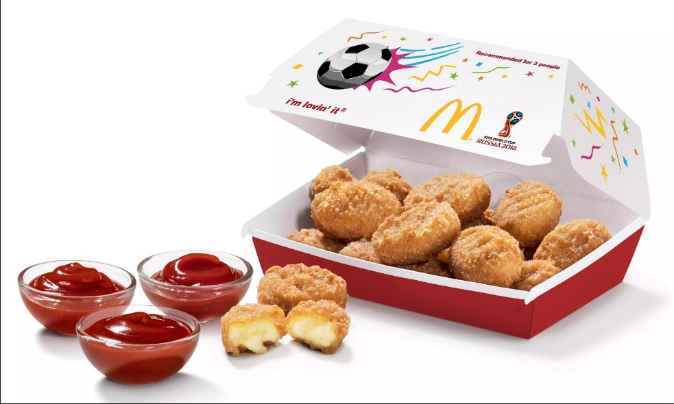 McDonald's Cheese Side Sharebox