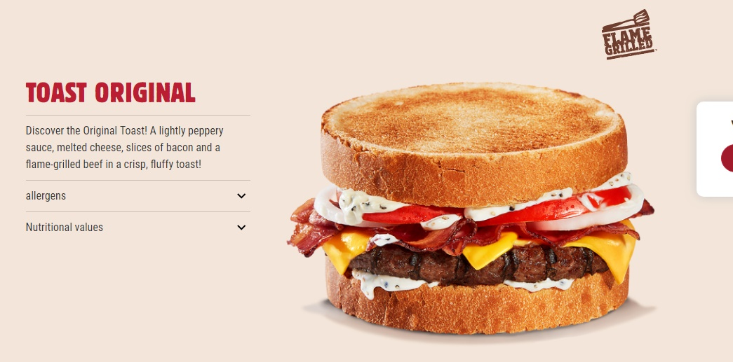 BK France Toast Original