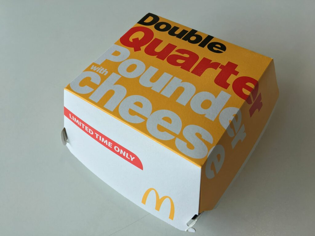 double quarter pounder meal price