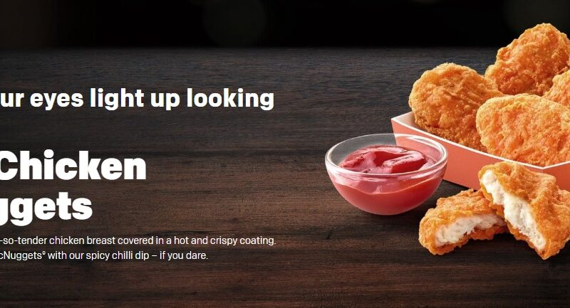 Spicy Chicken McNuggets