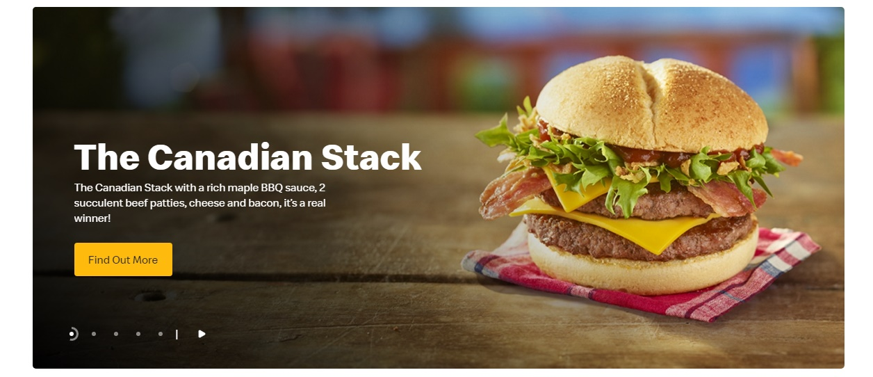 McDonald's Canadian Stack