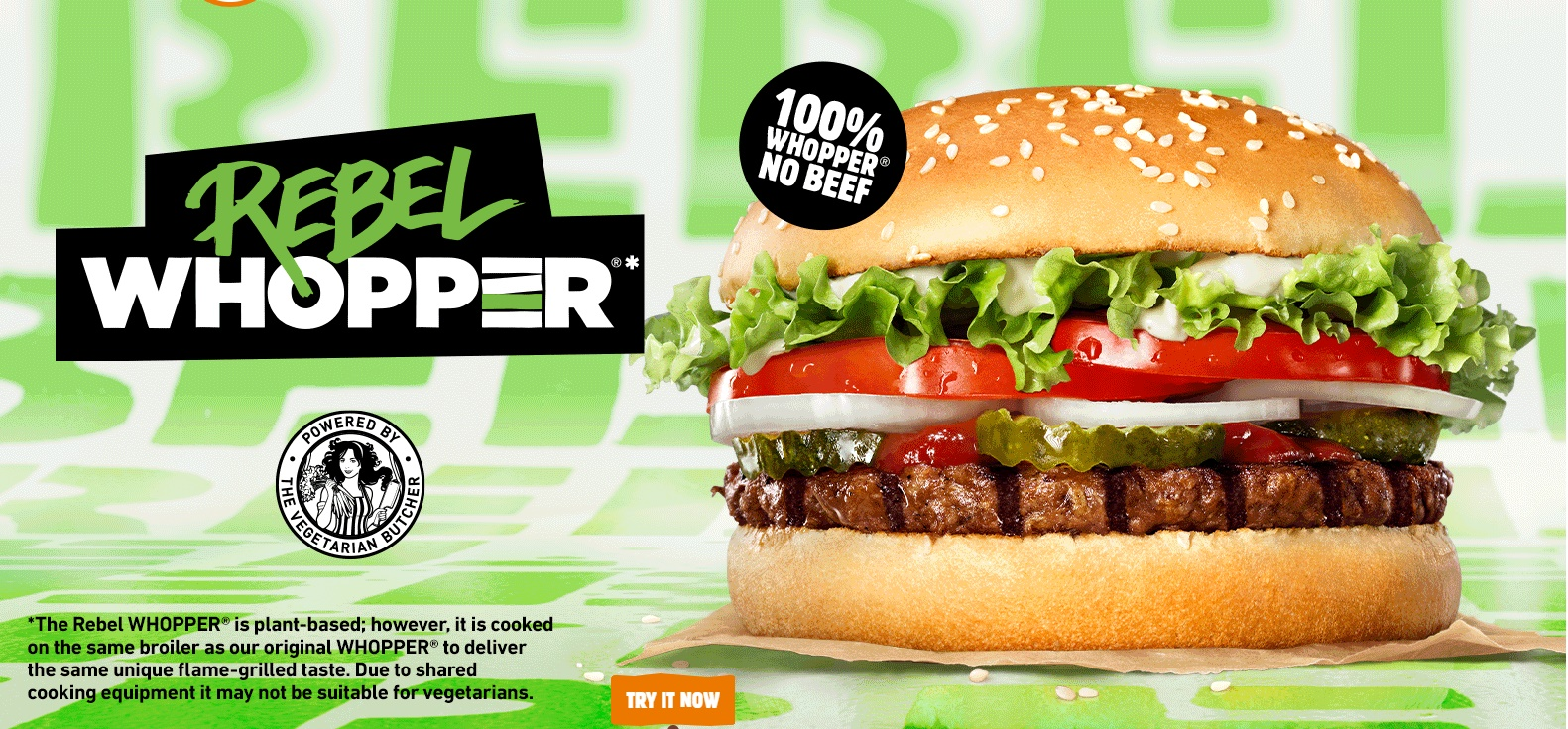 Rebel Whopper Burger King Uk Burger Price Calories Review 2020
