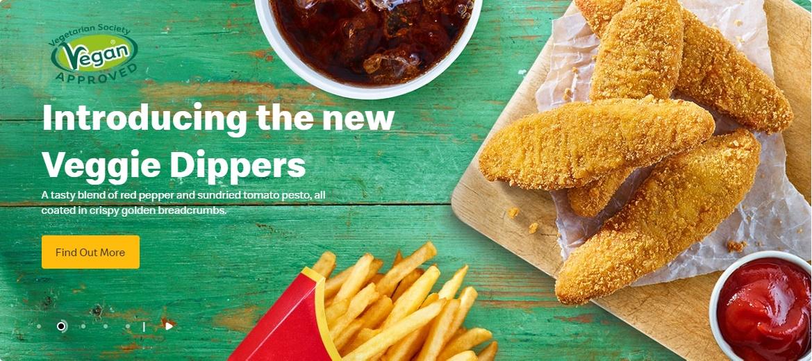 McDonald's Veggie Dippers