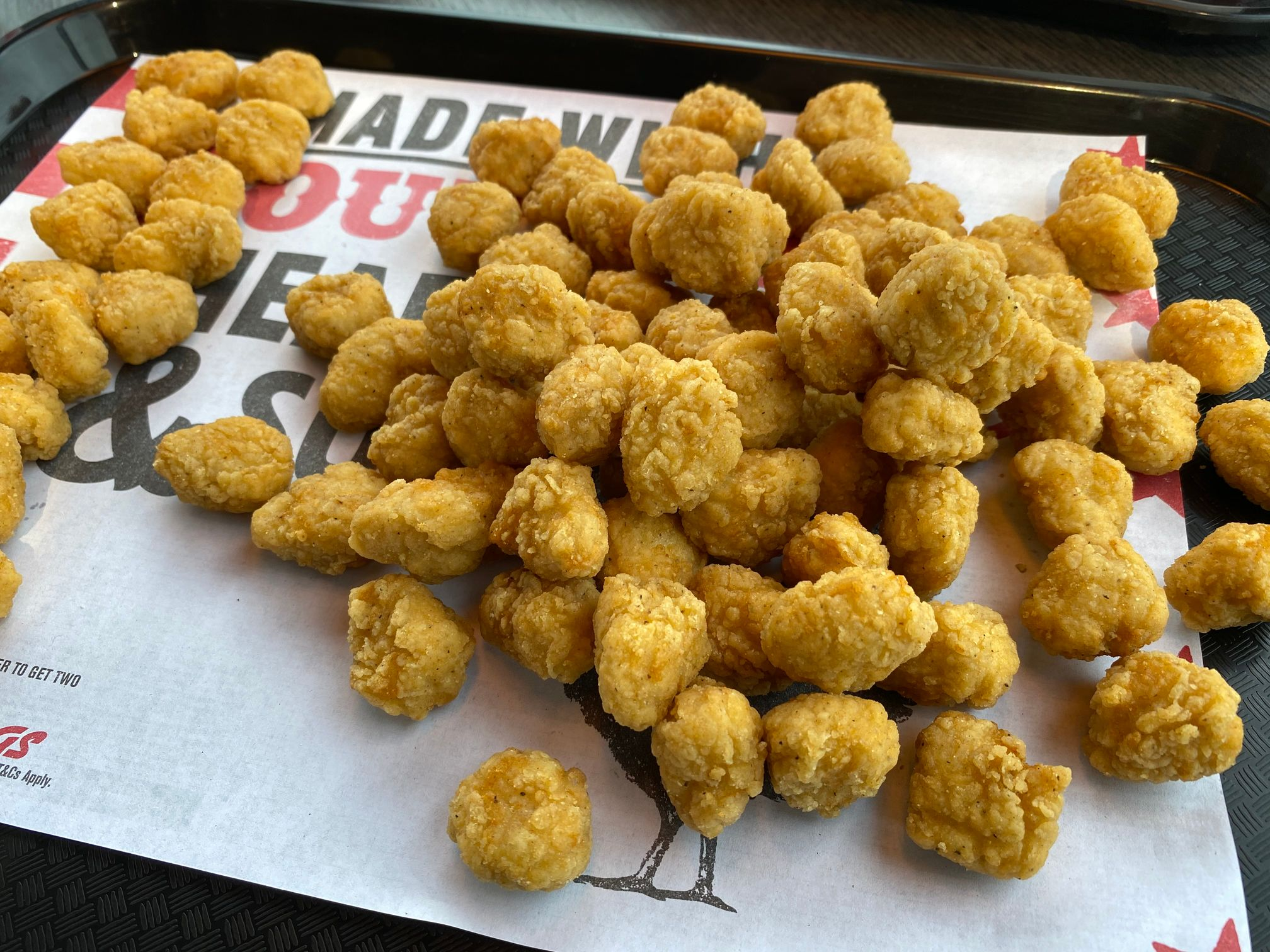 KFC Popcorn Chicken Bucket