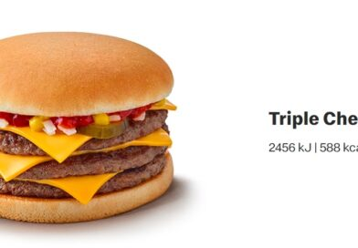 McDonald's Triple Cheeseburger