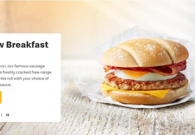 McDonald's Breakfast Roll