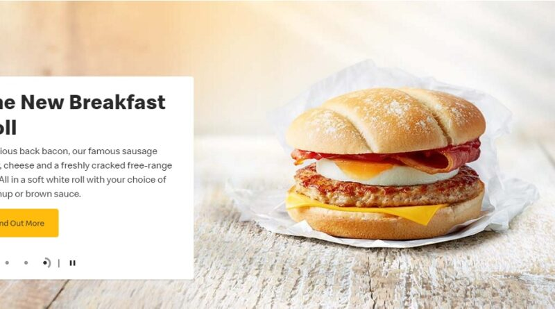 McDonald's Breakfast Roll Promo