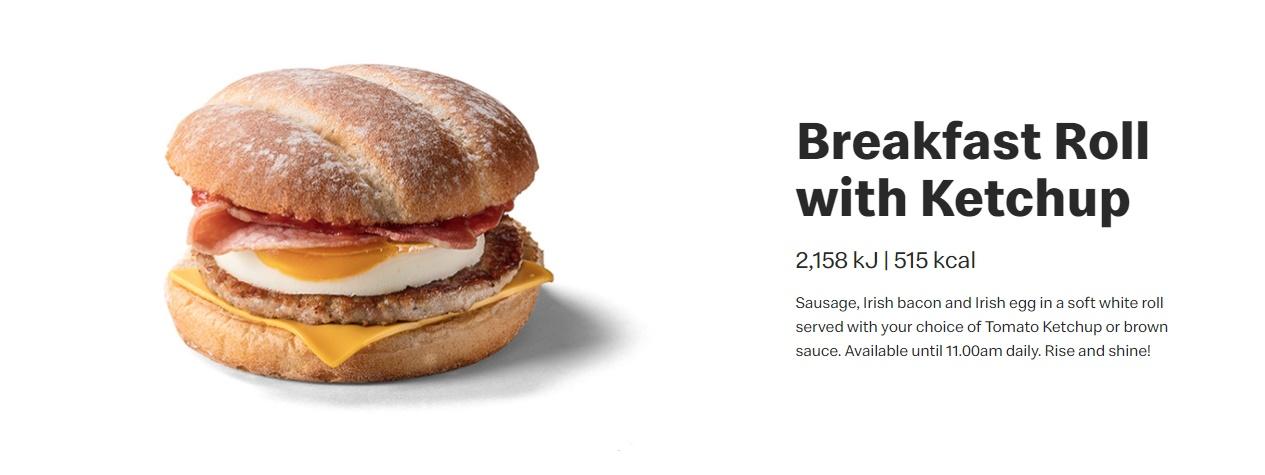 McDonald's Breakfast Roll