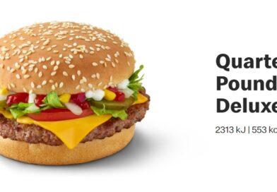 McDonald's Quarter Pounder Deluxe