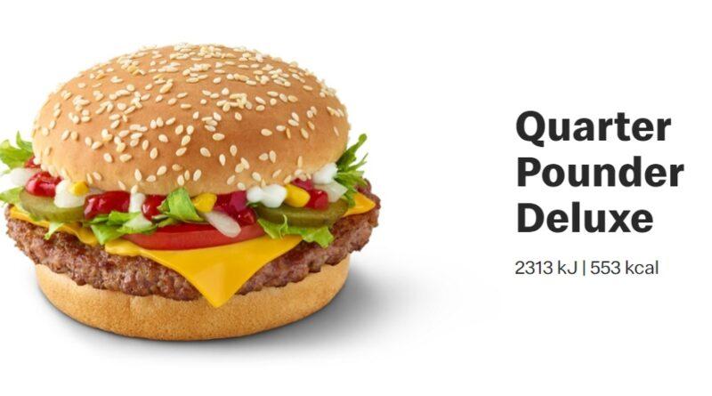 Quarter Pounder Deluxe