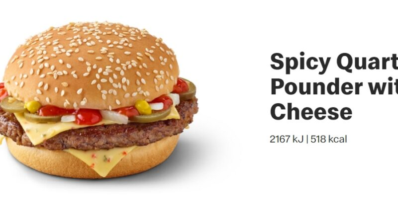 Spicy Quarter Pounder with Cheese
