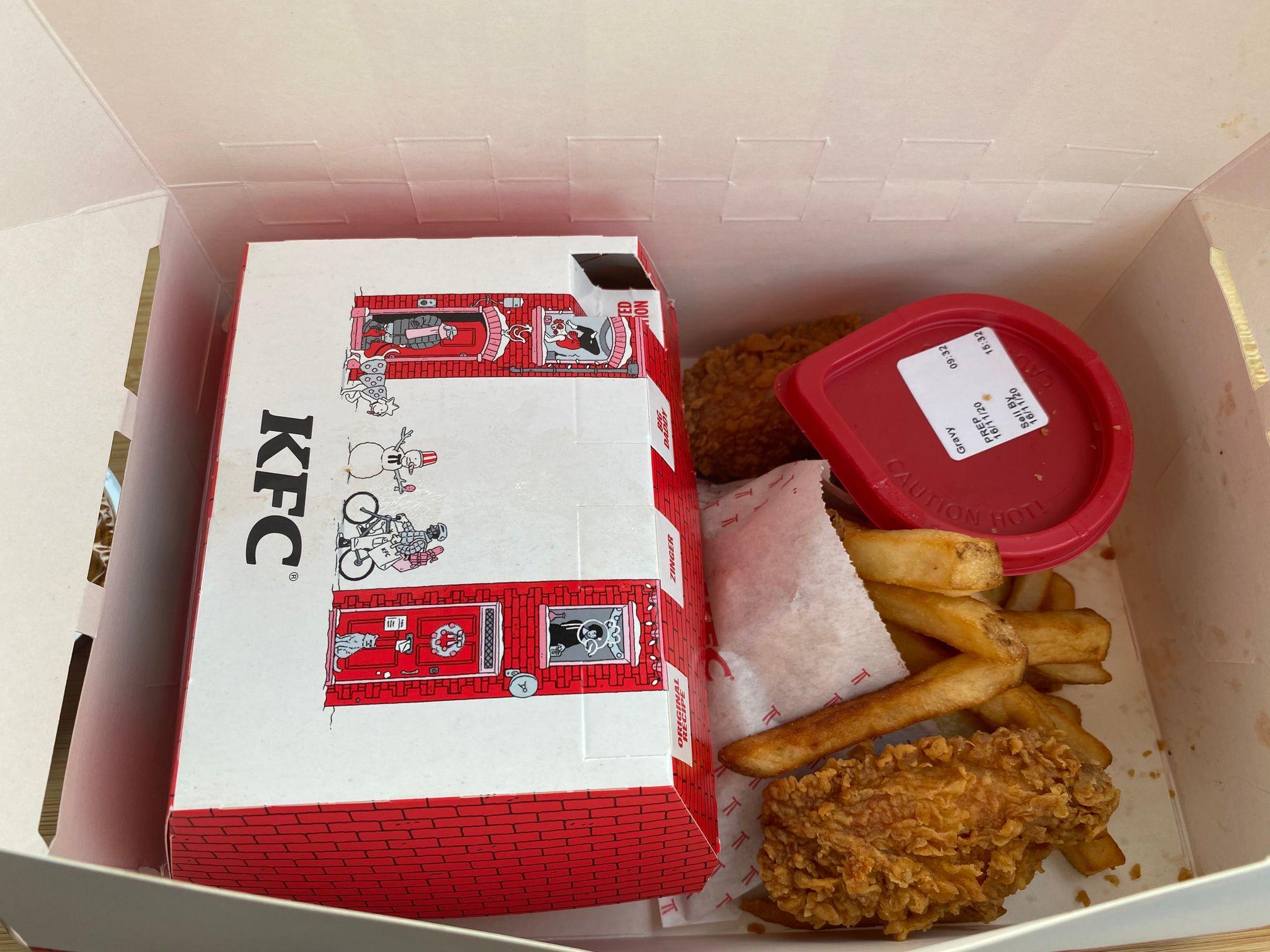Christmas Gravy Box Meal