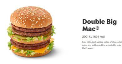 Double Big Mac 2020