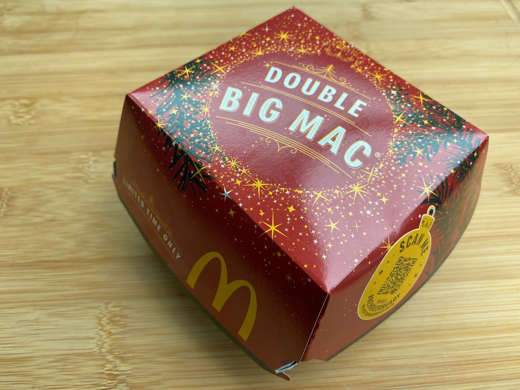 McDonald's Festive Menu