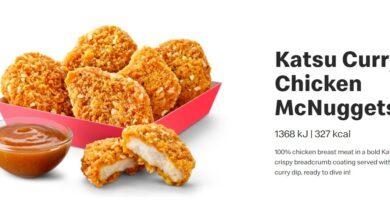 Katsu Curry Chicken McNuggets