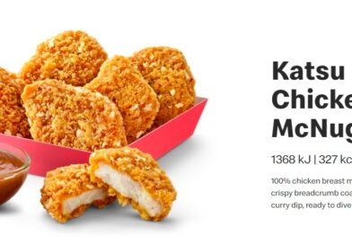 McDonald's Katsu Curry Chicken McNuggets