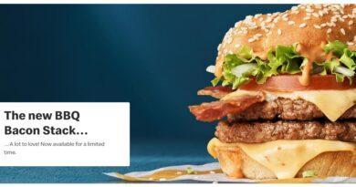 McDonald's BBQ Bacon Stack
