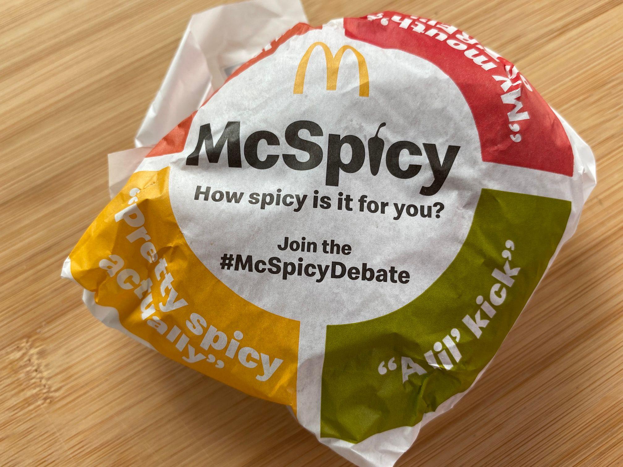 #McSpicyDebate