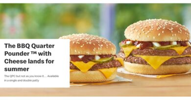 McDonald's Double BBQ Quarter Pounder with Cheese