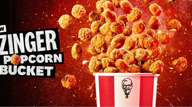 KFC Zinger Popcorn Bucket